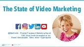 The State of Video Marketing - Mari Smith and Wave.video