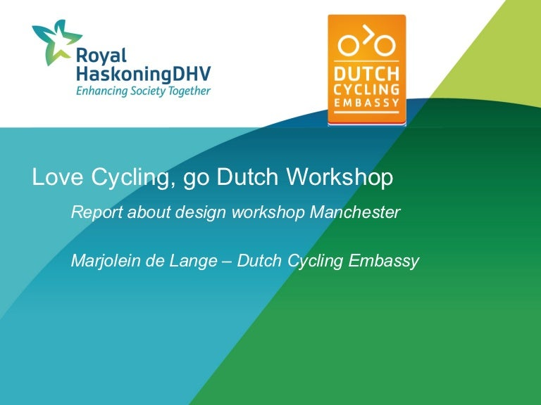 Marjolein De Lange Manchester Report Think Bike Workshop