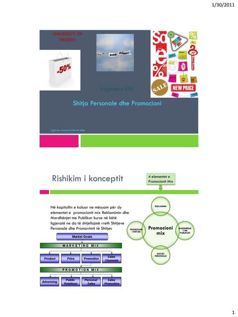 Marketing 14 sh.personale dhe promocioni