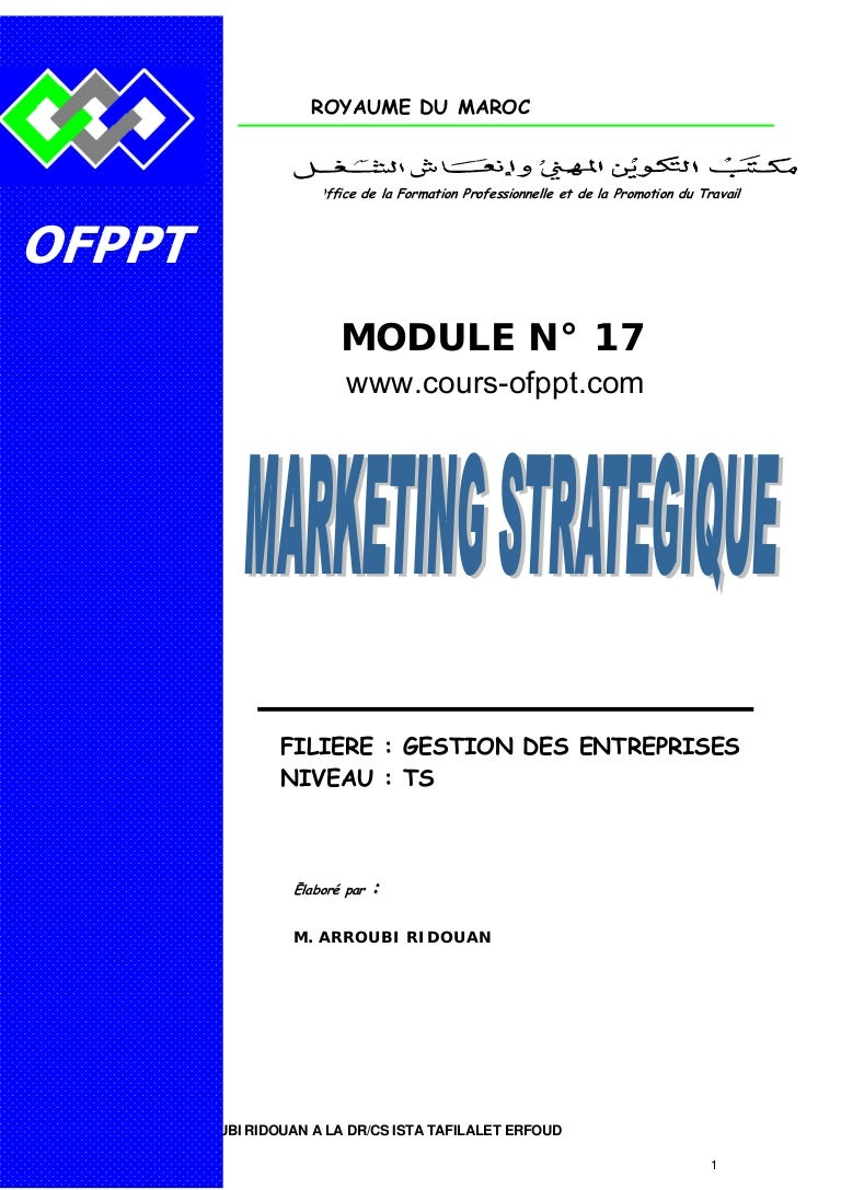 cours ofppt tsge