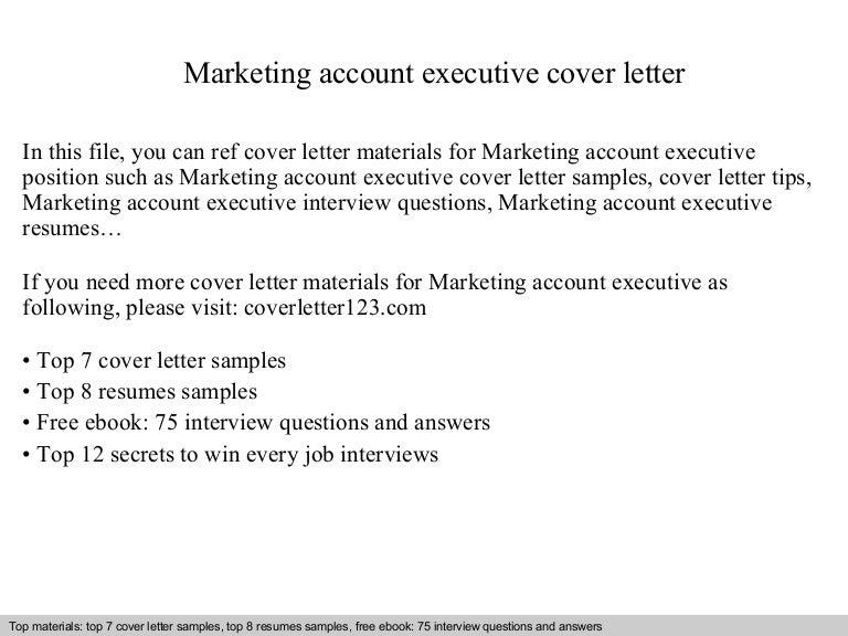 Marvelous Marketingaccountexecutivecoverletter 140828214145 Phpapp01 Thumbnail 4?cbu003d1409262131
