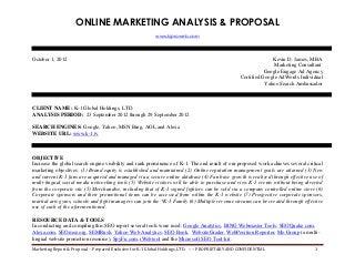 Marketing Proposal | LinkedIn