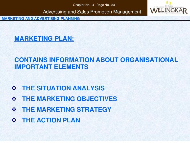 Marketing And Advertising Planning
