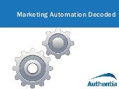 Marketing Automation Technology Decoded