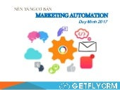 Marketing Automation - Kiến thức nền tảng - Đào tạo nội bộ GetFly