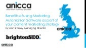 BrightonSEO - Benefits of using Marketing Automation Software as part of your SEO and content marketing strategy