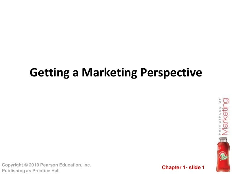 Marketing Chapter 1 Edition 13