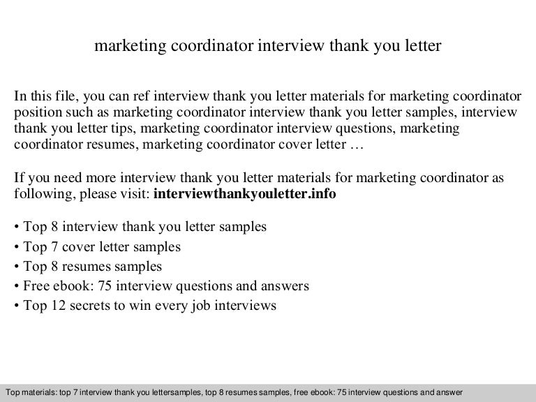 marketing coordinator - Marketing Coordinator Interview Questions And Answers
