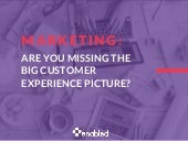 Marketing: Are You Missing the Big Customer Experience Picture?