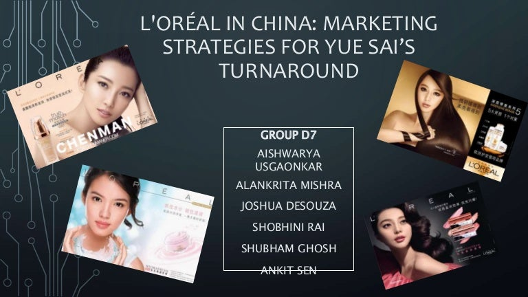 strategic analysis of loreal in china essay L'oreal introduction strategy analysis focuses on the long-term objective generating alternative strategies, and selecting strategies to pursue.