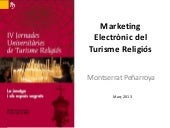 Marketing electronic per a Turisme Religiós