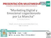 Marketing Digital y Emocional Cogestionado por La Mancha Cuentaminándonos
