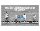 Marketing faster than your competitors in 5 easy steps
