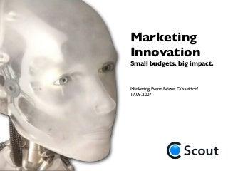 Marketing Innovation1046