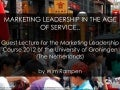 Marketing Leadership in the Age of Service