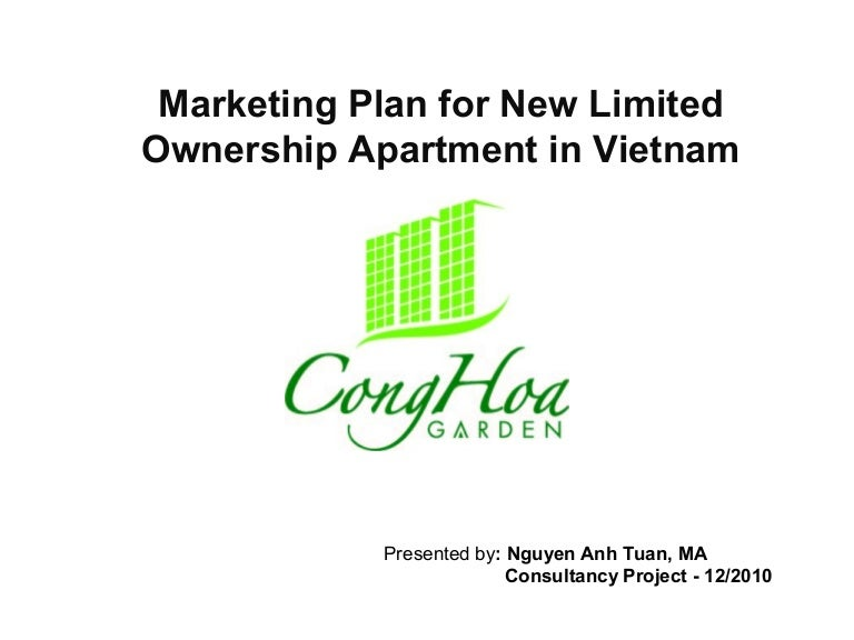 Marketing Plan for New Limited Ownership Apartment in Vietnam
