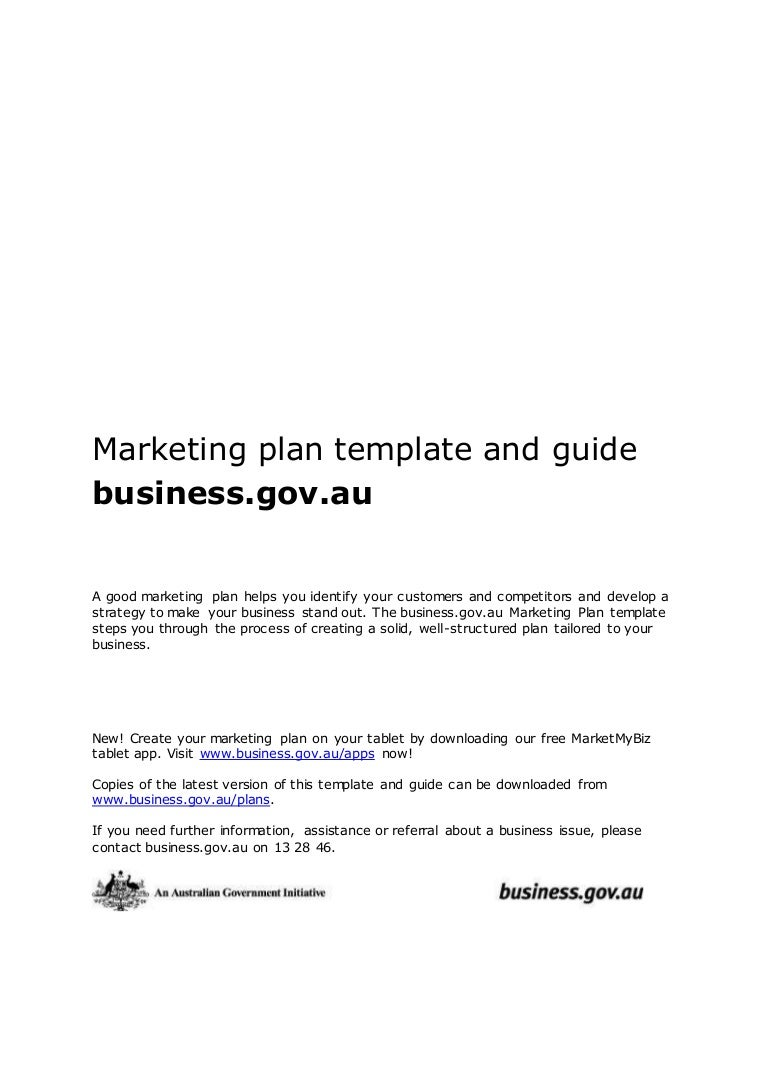 Marketing plan template and guide doc accmission
