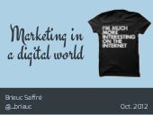 What's marketing in a digital world?