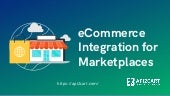 eCommerce Integration for Markeplaces