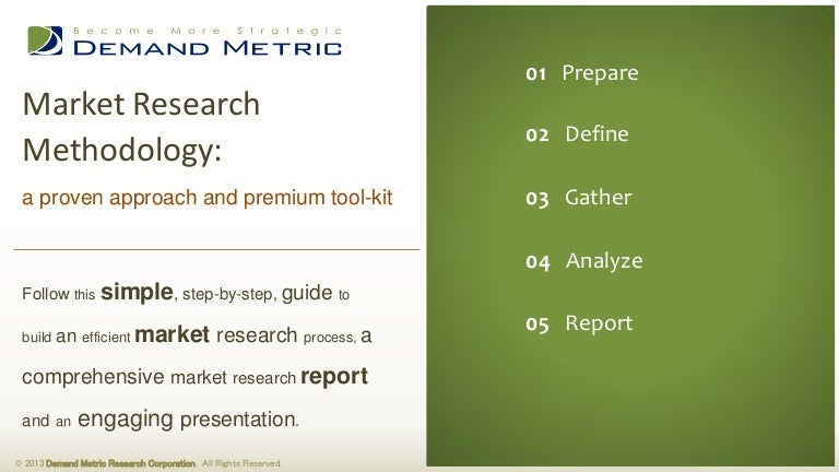 an example of research methodology