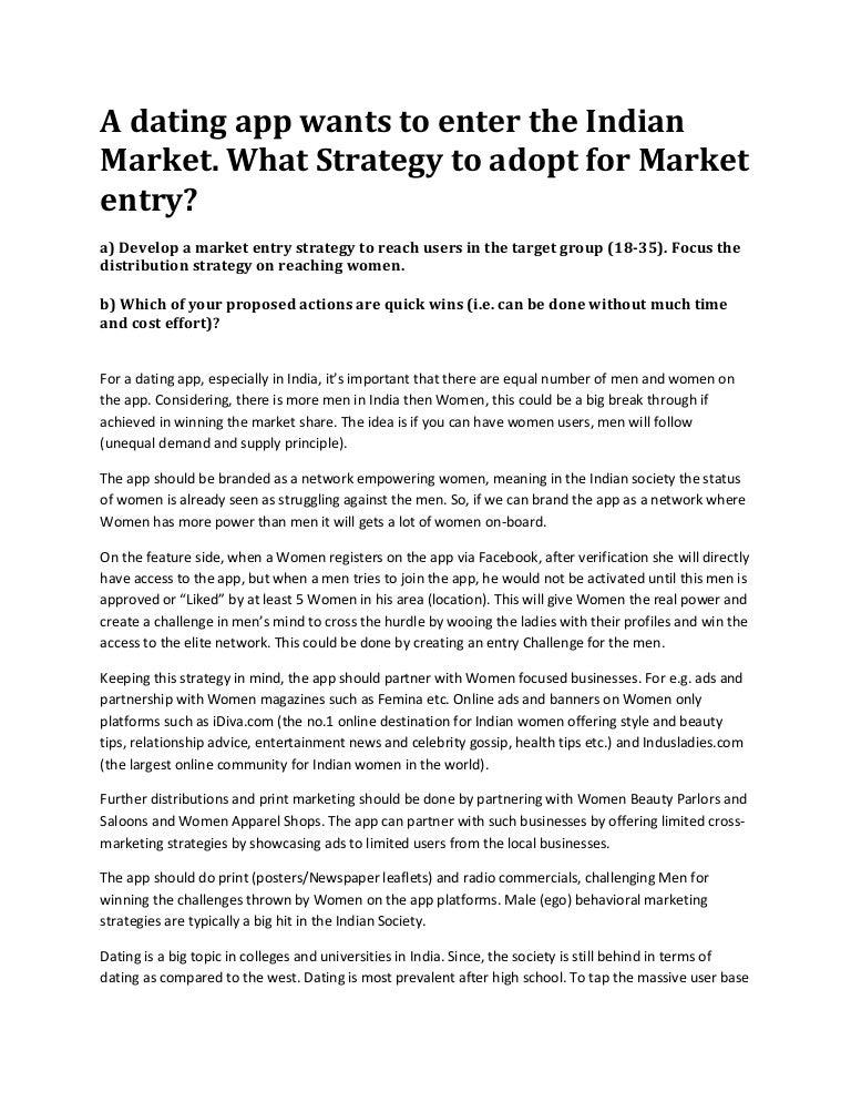 Dating app market share