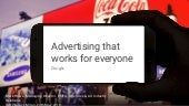 Interact 2018 - Advertising that works for everyone