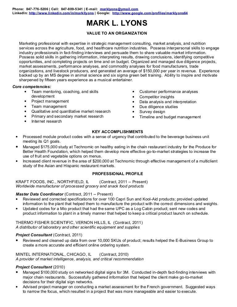 SlideShare  Service Industry Resume