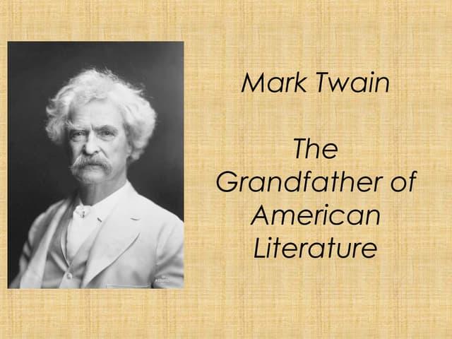 Mark twain overview