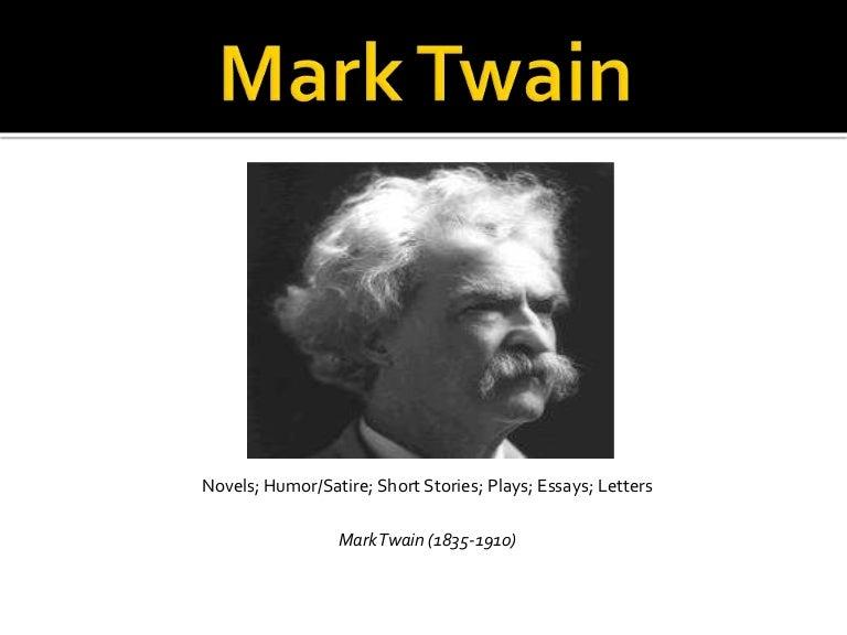 mark twain presentation