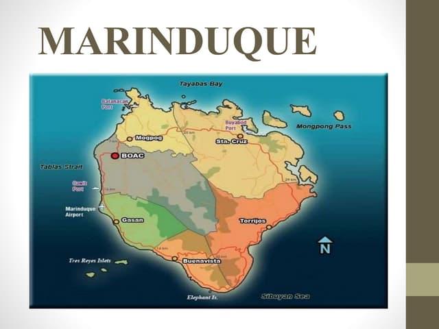 MARINDUQUE, ROMBLON, PALAWAN