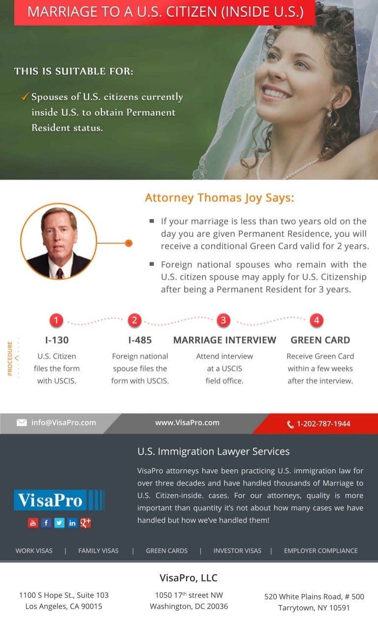 marriage based green card  how to get started