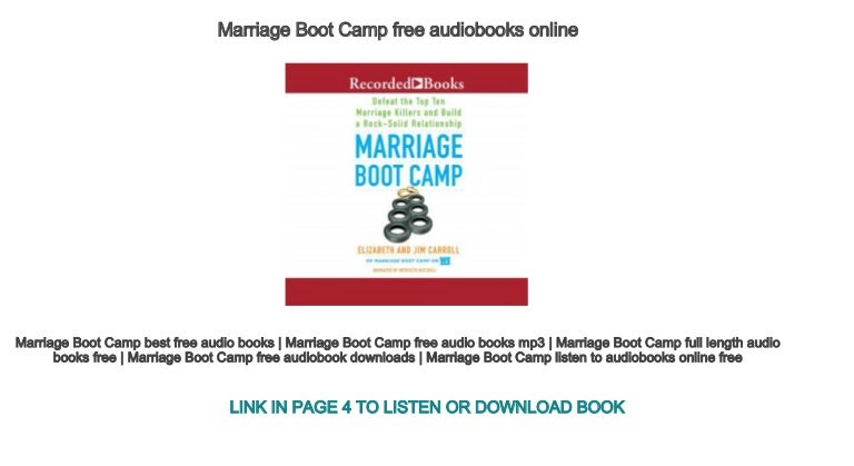 Marriage Boot Camp Online
