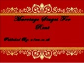 Royal Marriage Stage Decoration | Asian Wedding Stage Decoration