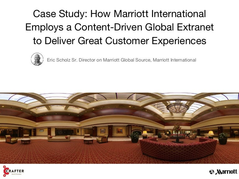 a case study of marriott international Xerox helped marriott streamline accounts payable processes and respond more quickly to claims read the case study.