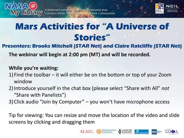 Mars in May Webinar