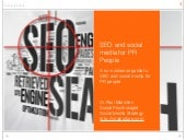 SEO and Social Media for PR People