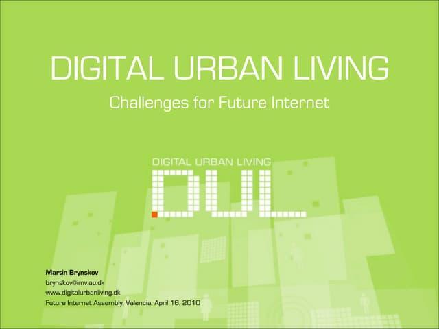 Martin brynskov   future internet assembly - smart cities - valencia