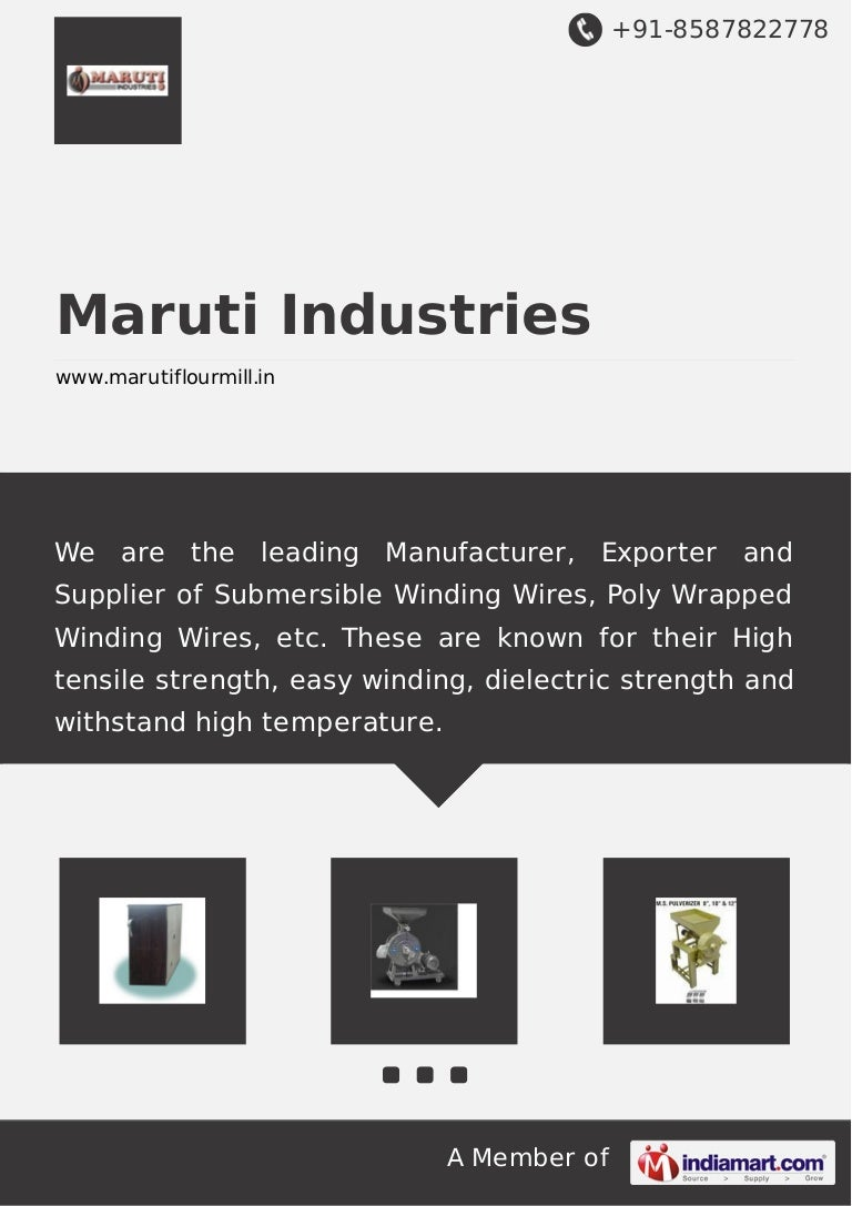 Submersible Winding Wires by Maruti industries