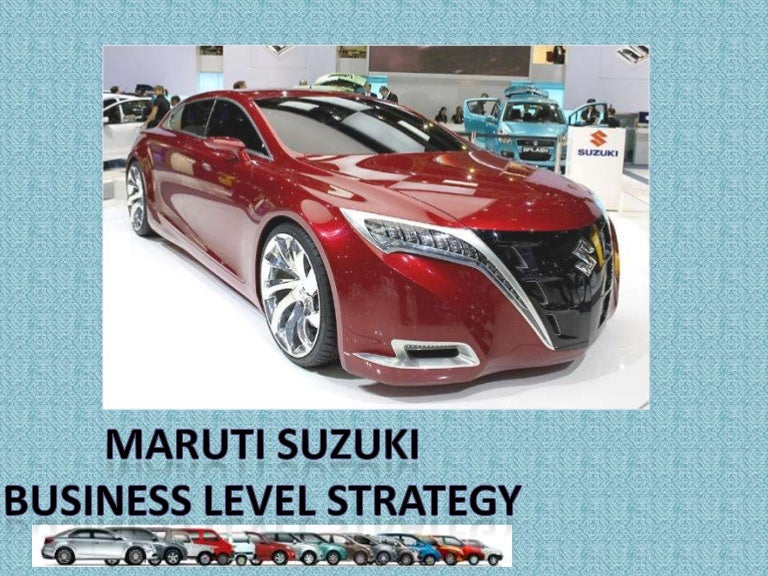 the suzuki motor company market strategy analysis Analysis of toyota motor corporation by thembani nkomo 1 toyota corporate overview: founded in 1937, toyota motor corporation is a japanese company that engages in the design, manufacture, assembly, and.