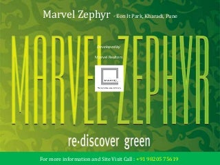 Marvel Zephyr at Kharadi, Pune - Price, Review, Rates, Brochure, Location