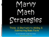 Marvy Math Strategies