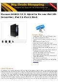 Marware ahhb11 c.e.o. hybrid for the new i pad (4th generation), ipad 3 & ipad 2, black