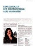 Konsequenzen der Digitalisierung aufs Verkaufen / Jahrbuch Marketing 2012