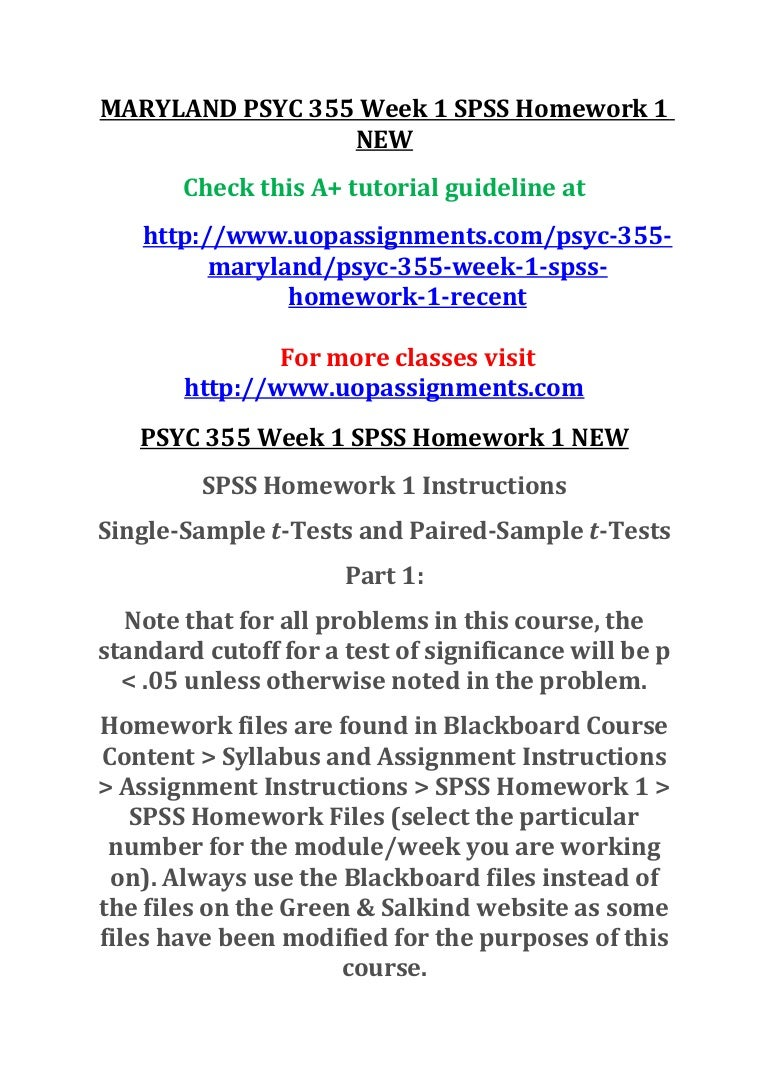 psyc 355 homework 1