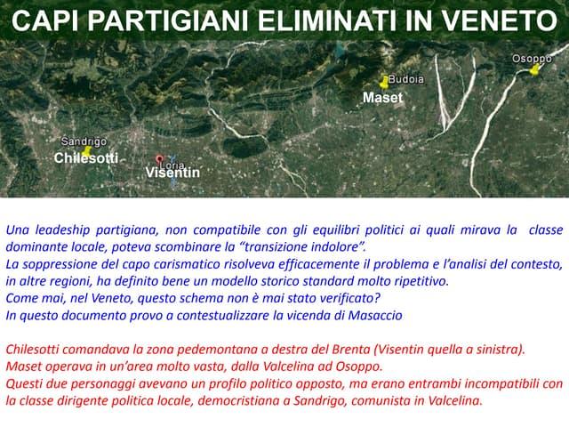 PRIMO VISENTIN, IL COMANDANTE MASACCIO: VIVE