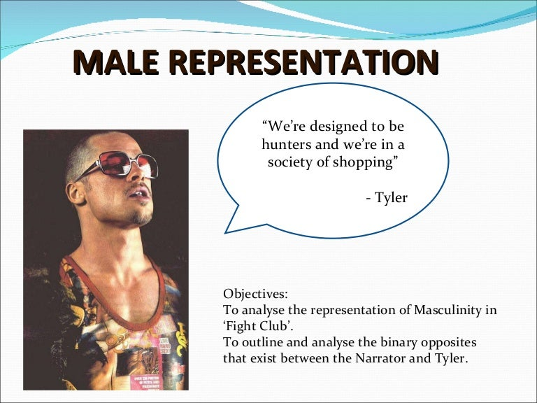 masculinity in fight club