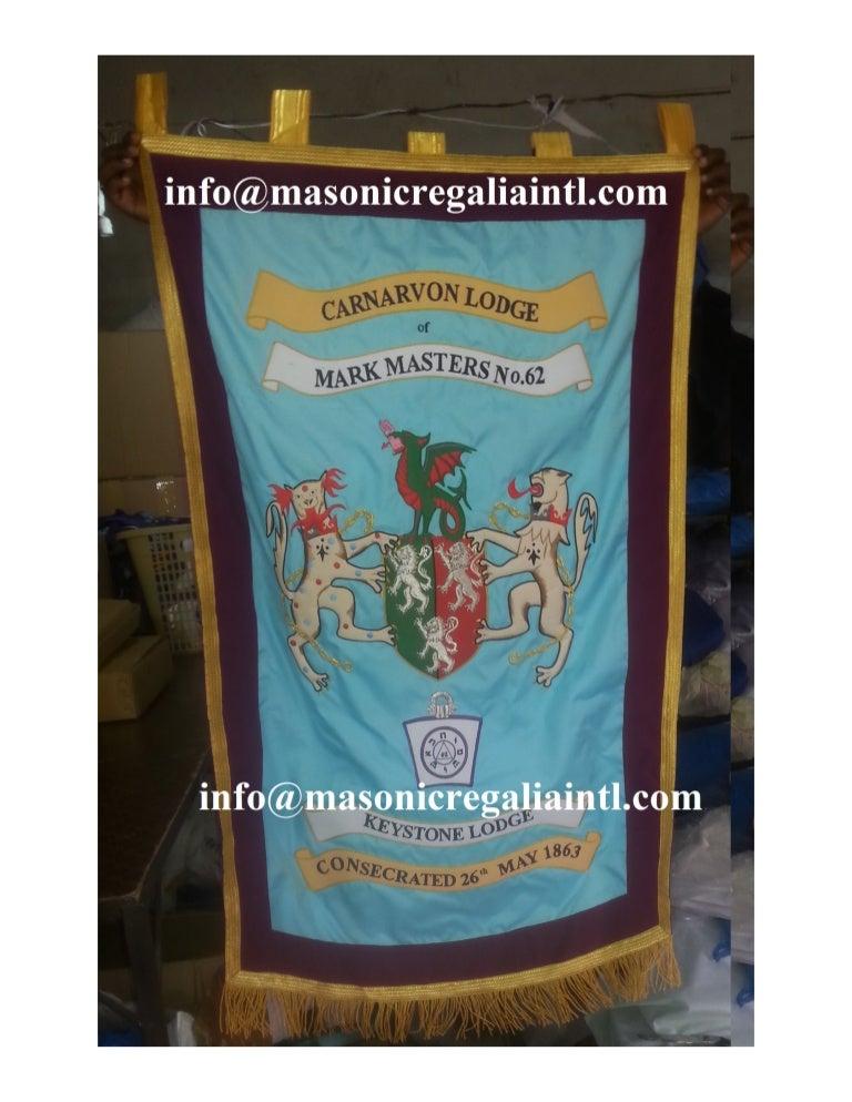 Masonic Regalia Banners