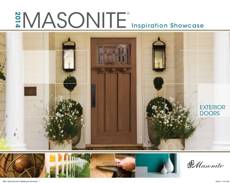 Masonite Door Catalog