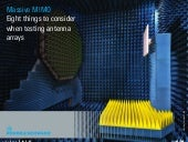 Massive MIMO Eguide - 8 things to consider when testing antenna arrays