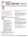 Microsoft SQL Server - Master Data Services Datasheet